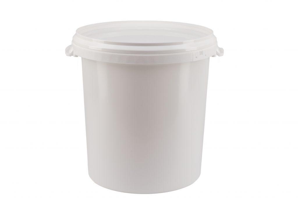30 Liter Rundeimer, weiß