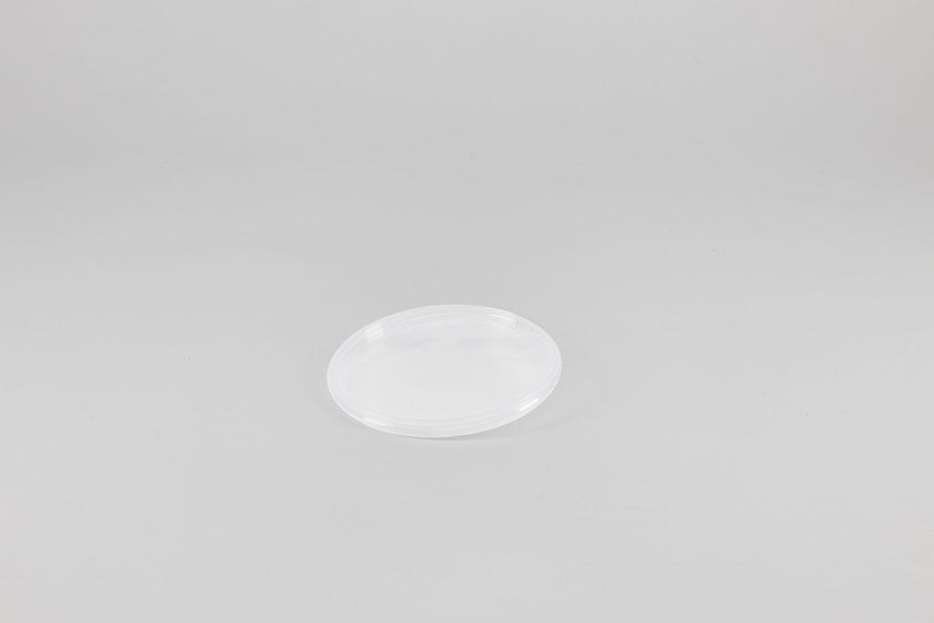 Deckel zu 1 Liter Rundeimer, transparent